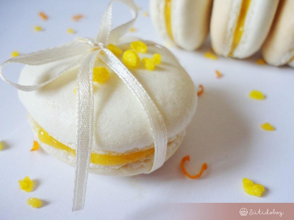 Macaron meyer citromos krémmel