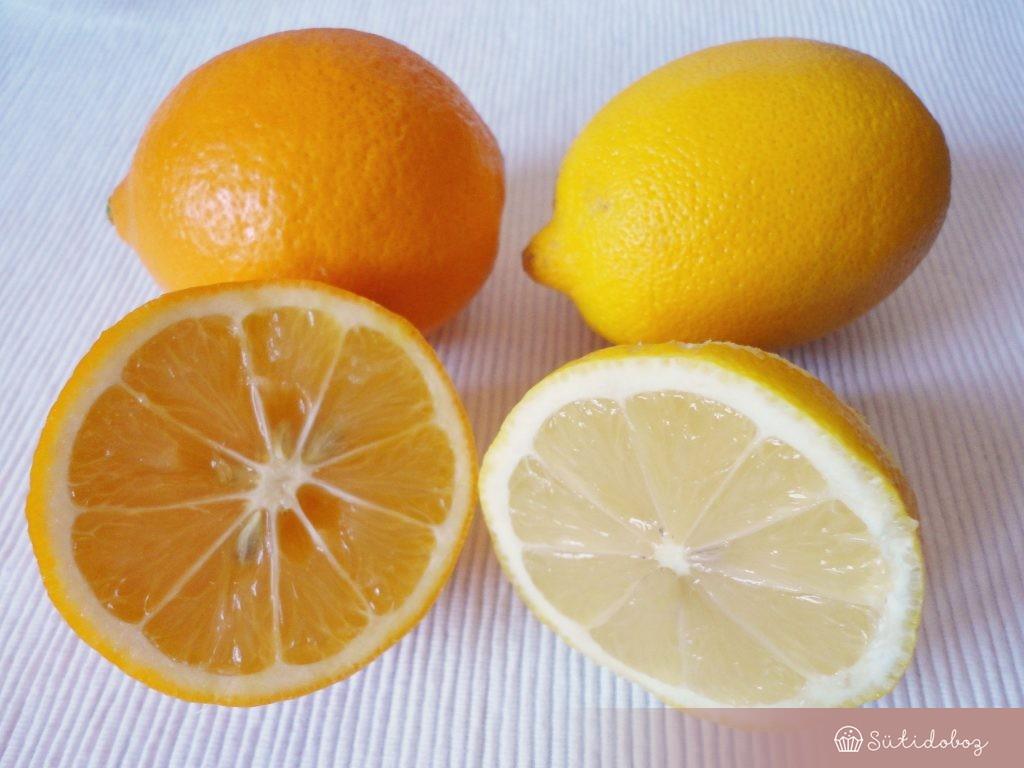 Meyer citrom vs. hagyományos citrom