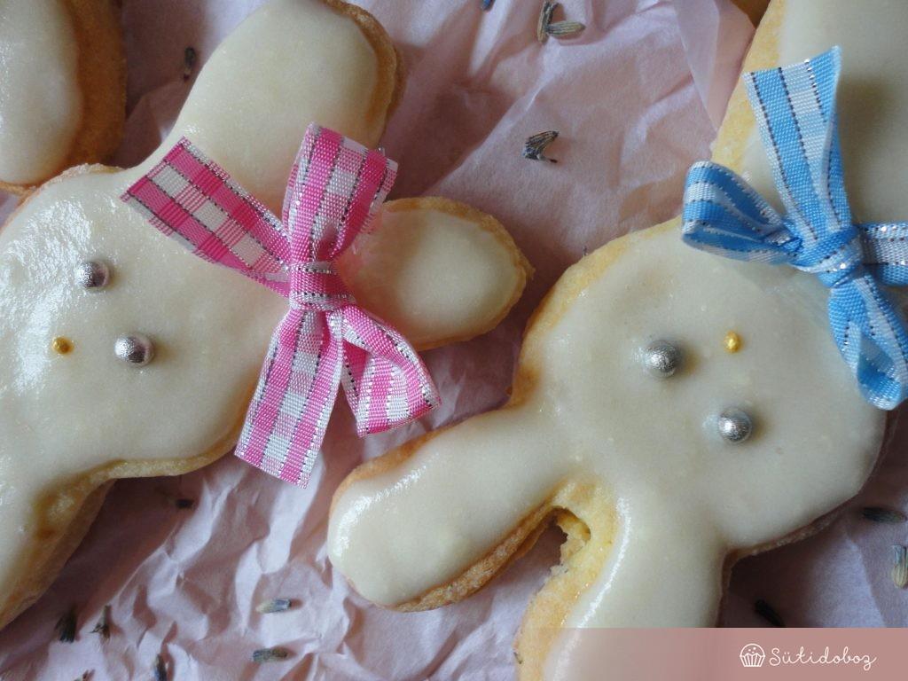 Levendulás keksz