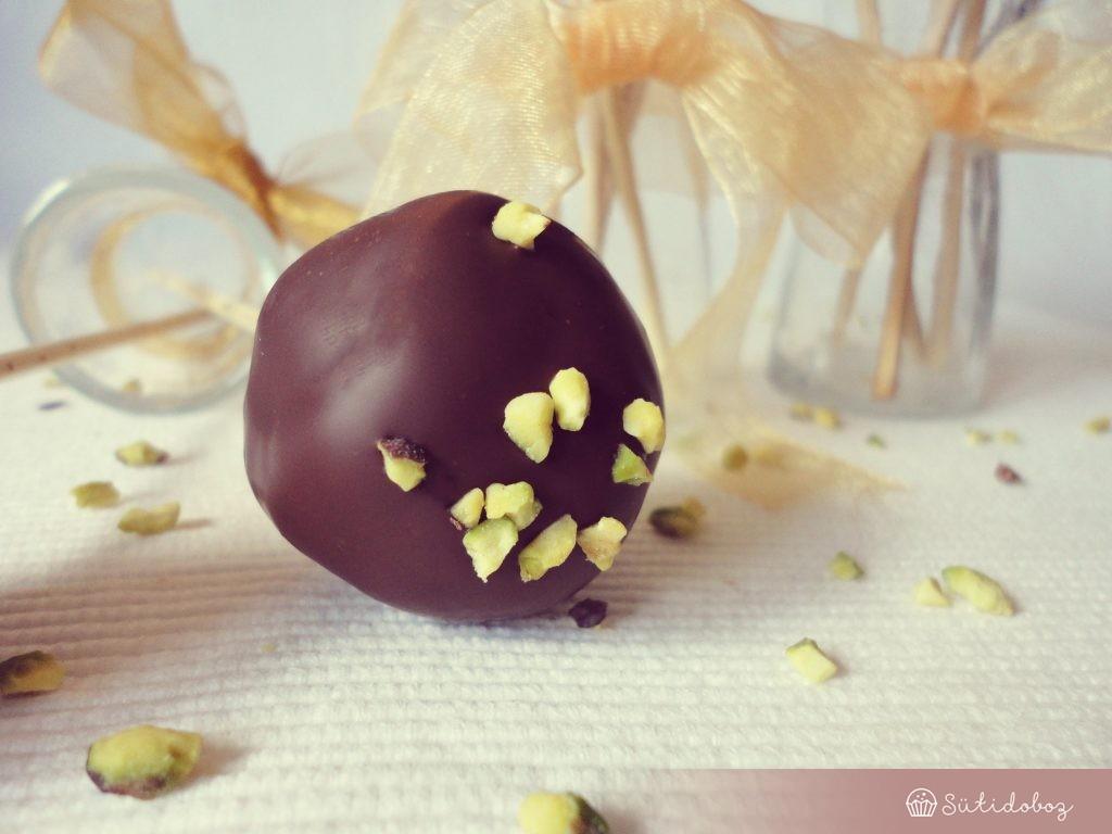 Csokis cake pop