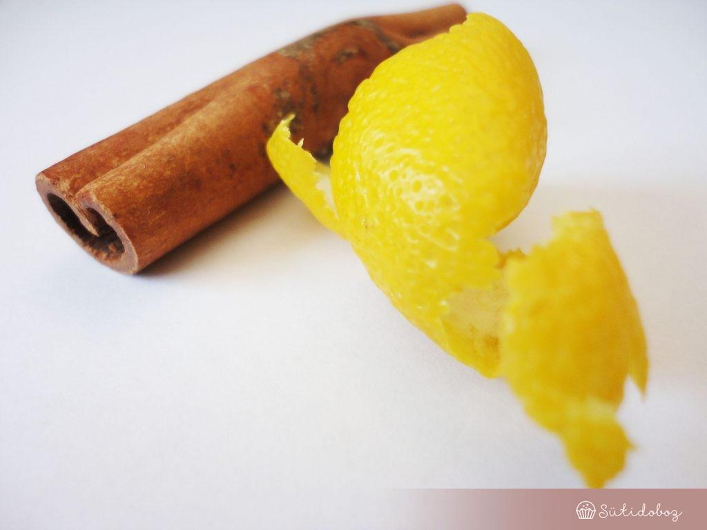 A tejberizs lelke: citrom & fahéj
