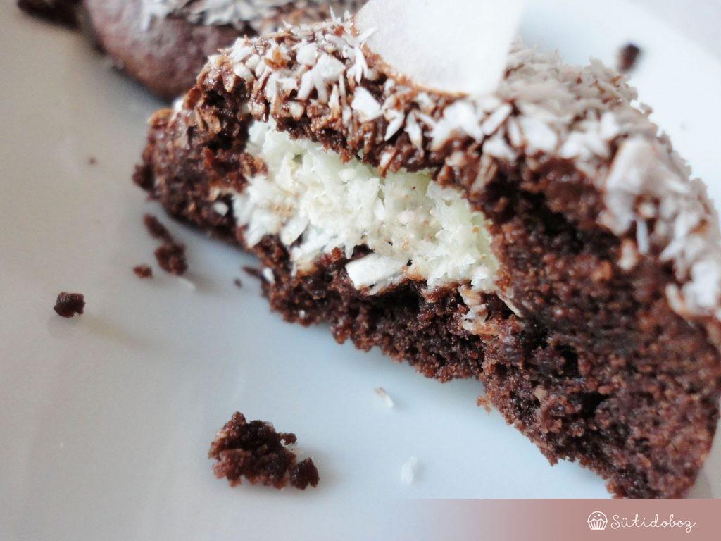 Kókuszos-csokis keksz