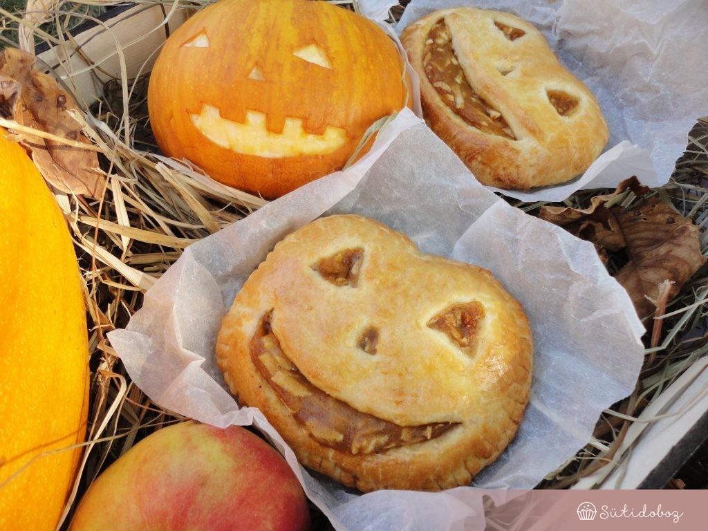 Pite sütőtökkel és almával