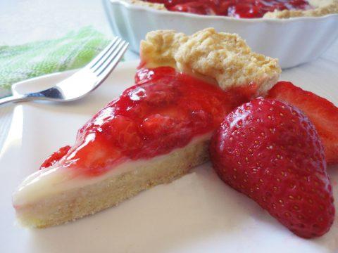Epres-vaníliás pite