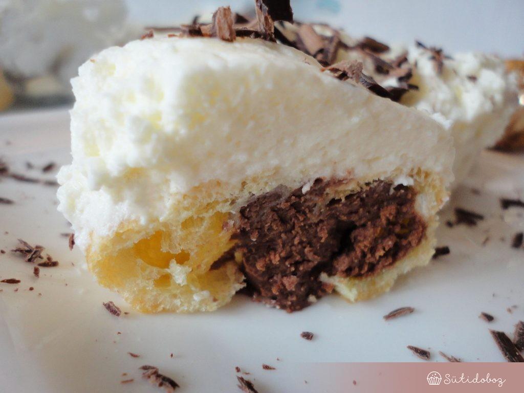 Csokis profiterol
