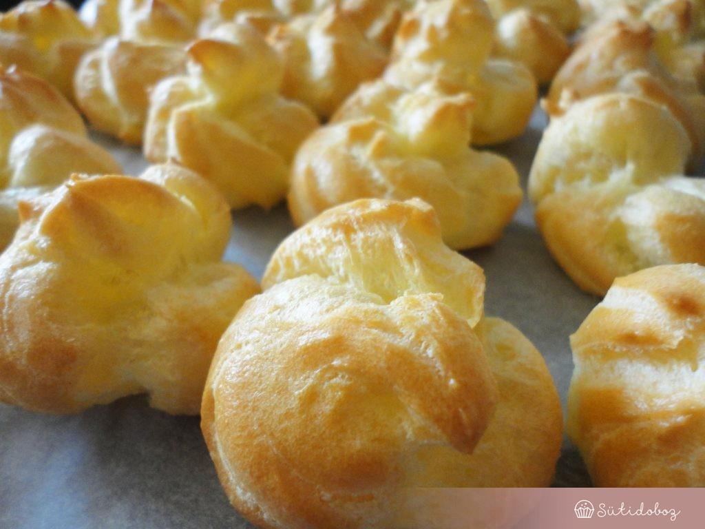 Az elkészült fánkocskák