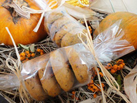 Sütőtökös-csokidarabkás cookie