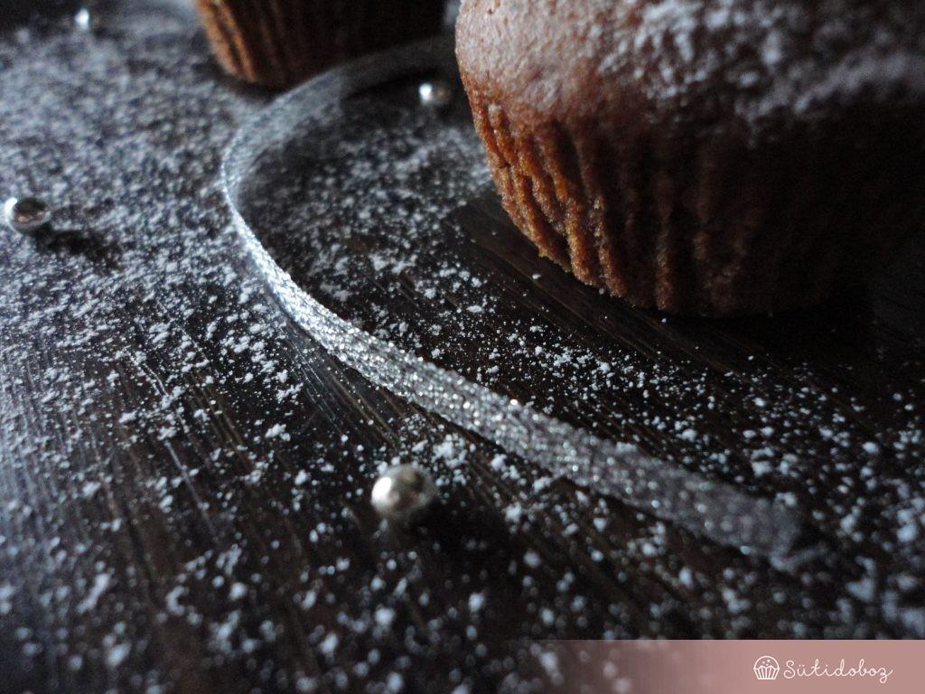 Havas karácsonyi muffin