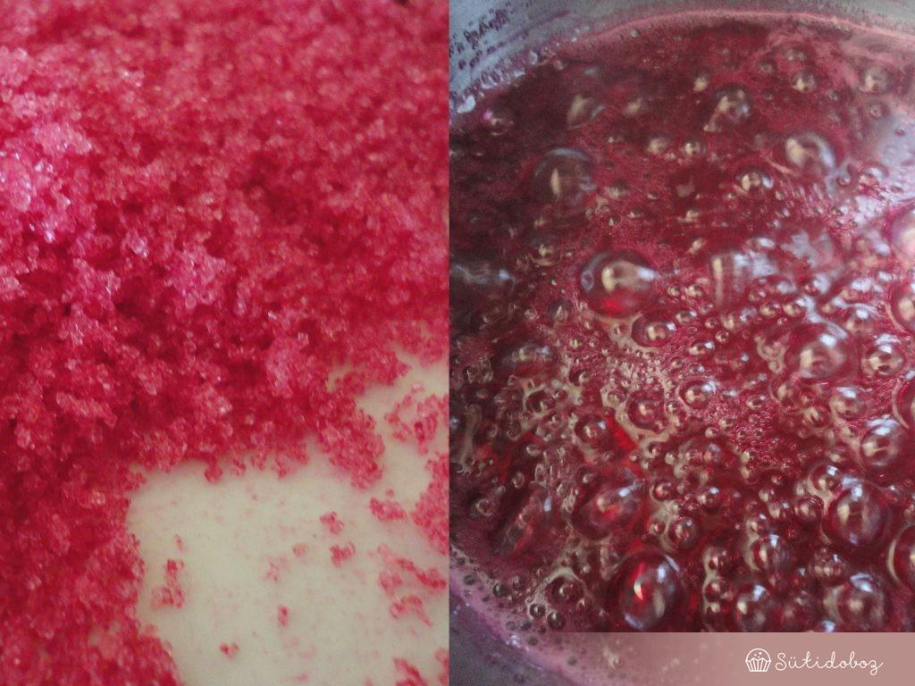 Cukorszirupot főzünk