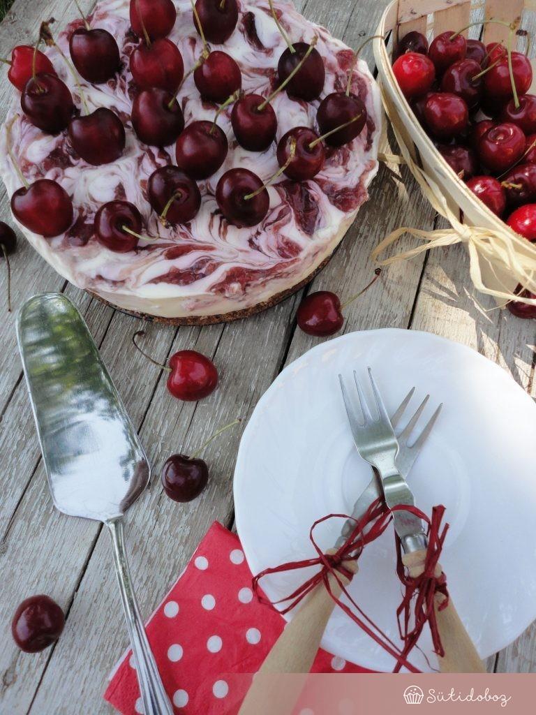 Cseresznyés sajttorta