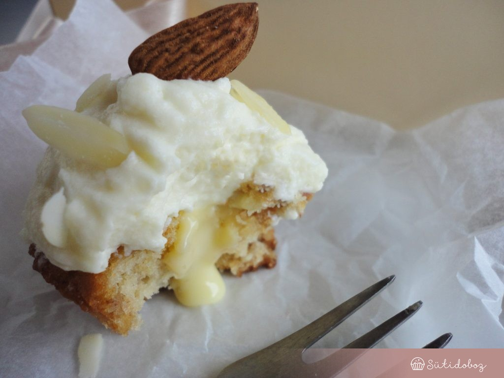 Marcipános cupcake