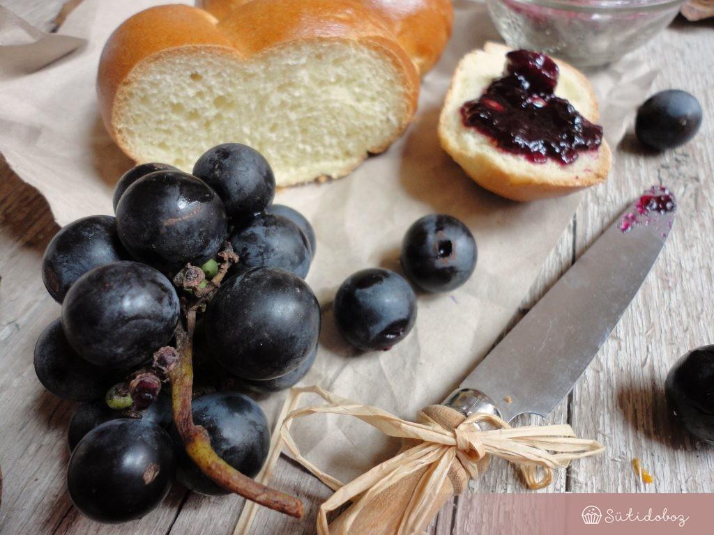 Othello szőlő lekvár