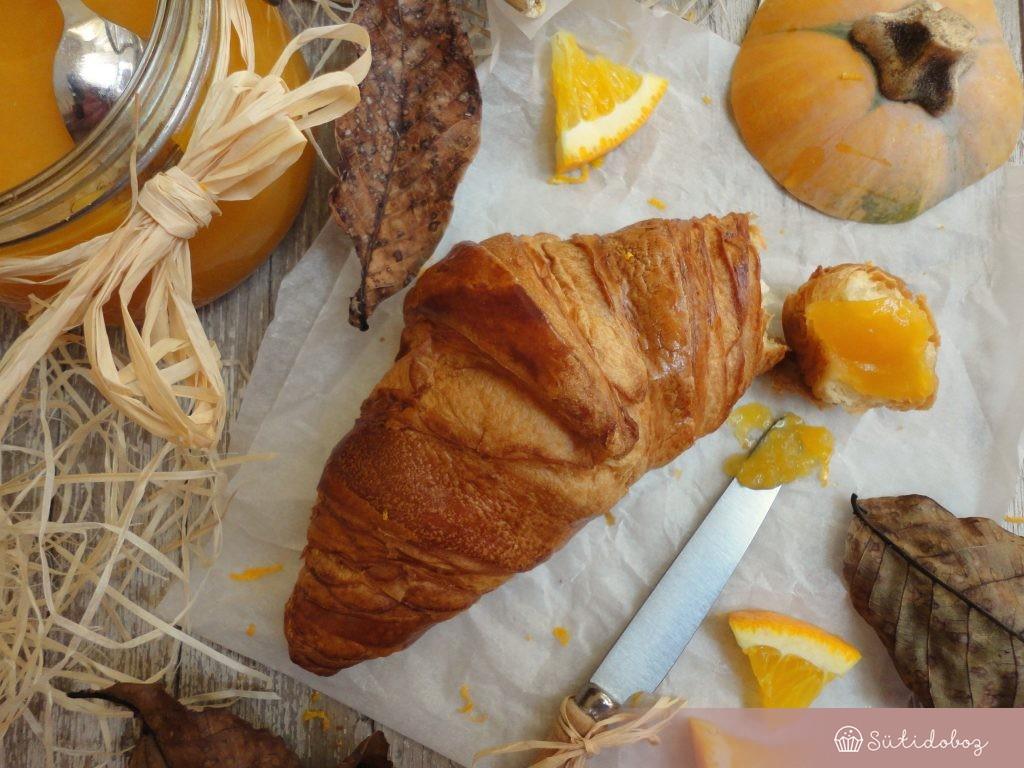 Narancsos sütötök lekvár