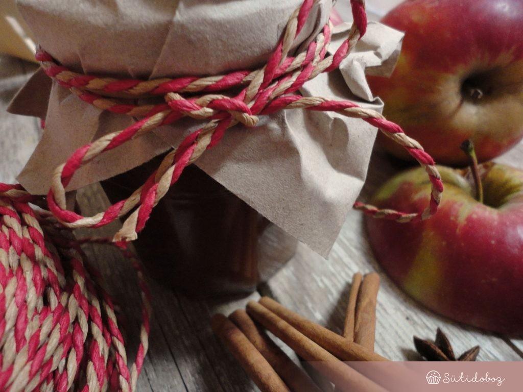 Sült alma lekvár