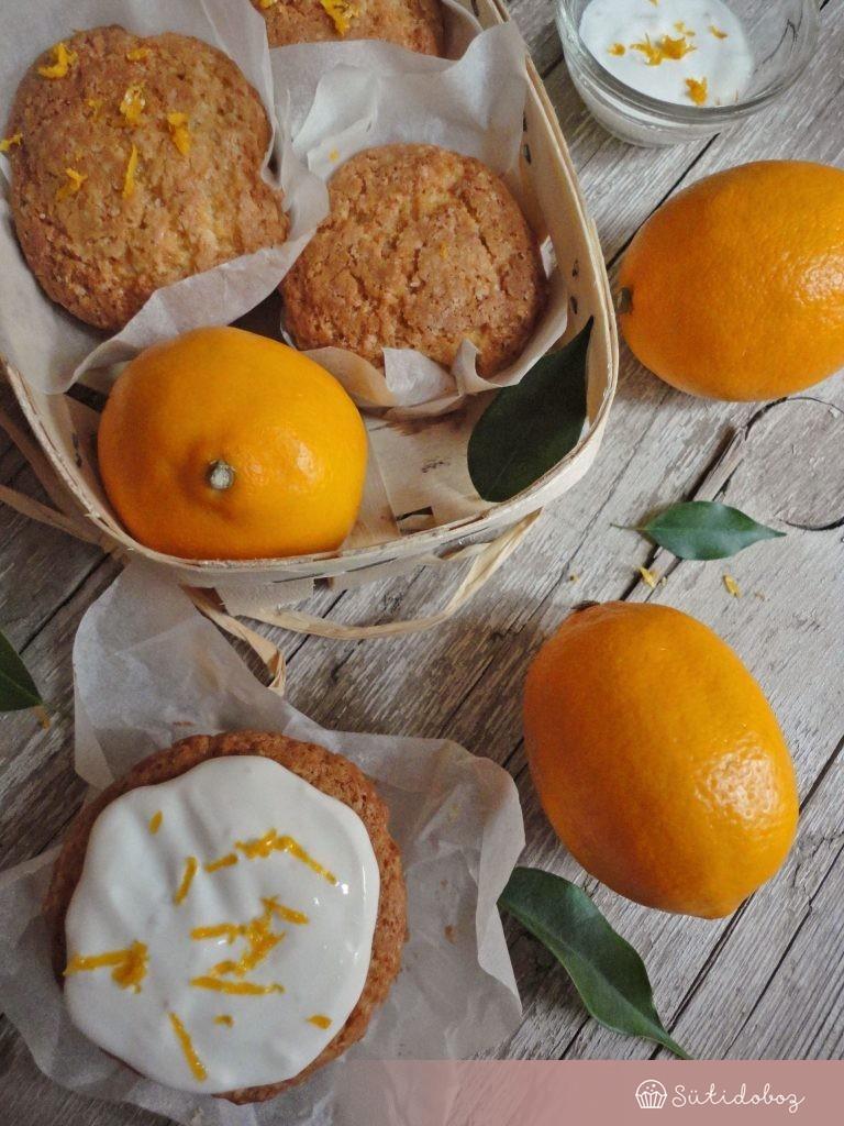 Meyer citromos-ricottás muffin