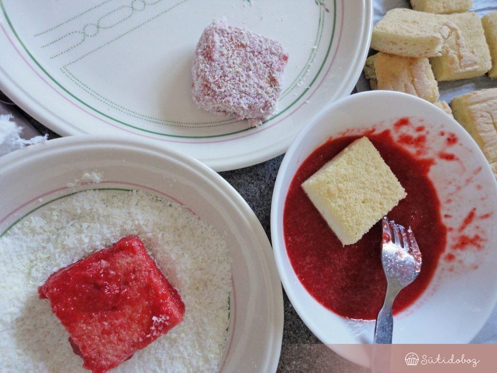 A süti összeállítása