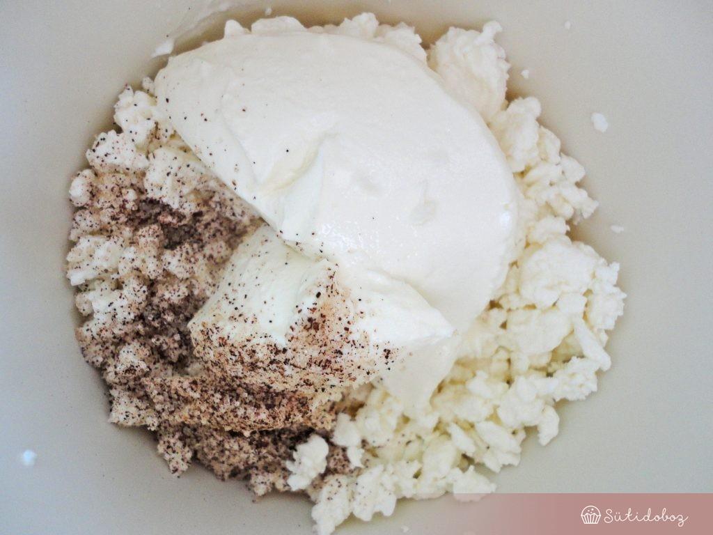 Túró vaníliával és mascarponéval