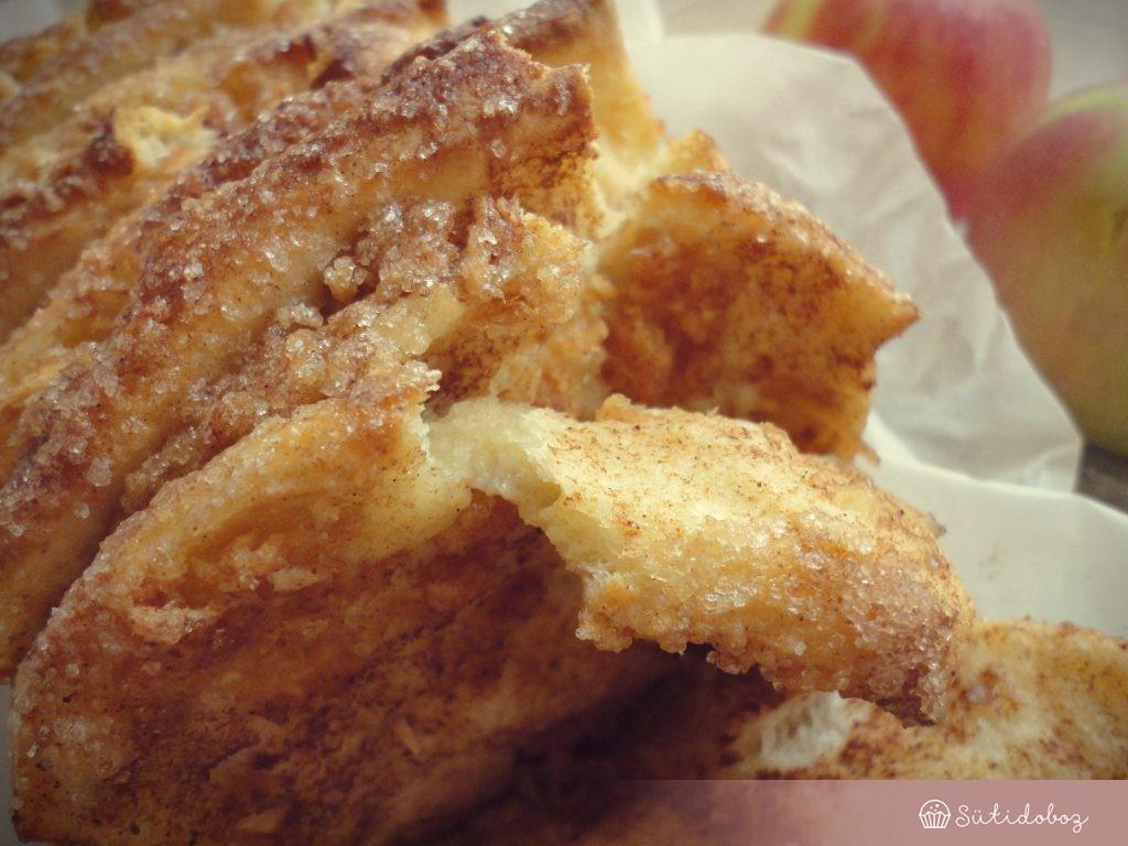 Almás leveles kenyér