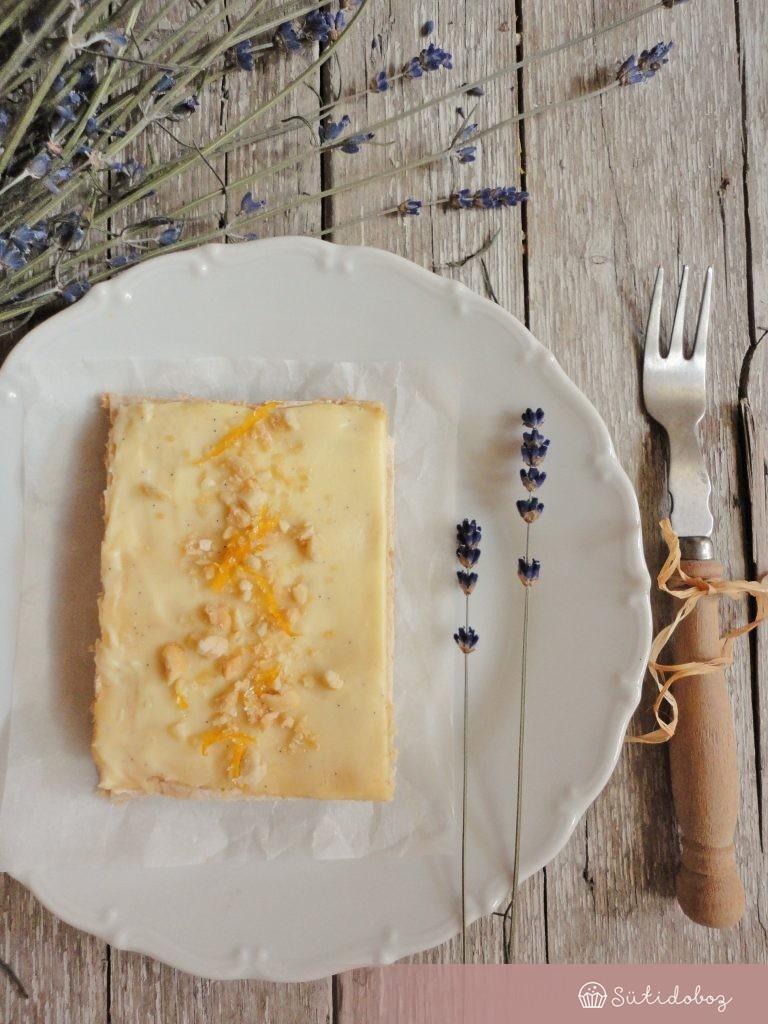 Gluténmentes meyer citrom torta