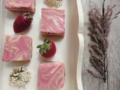 Epres-rebarbarás krémsajtos süti