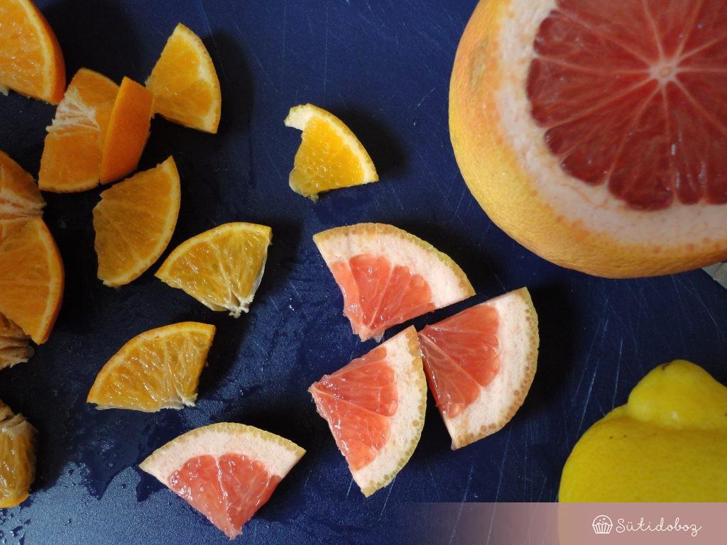 Citrusok a jégnyalókához