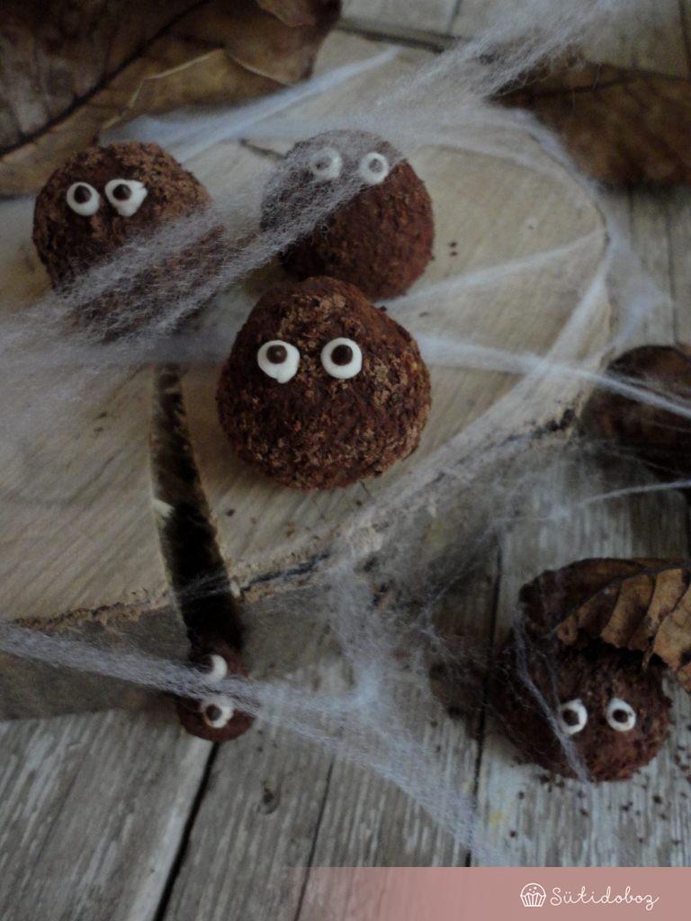 Csokigolyó szörnyek