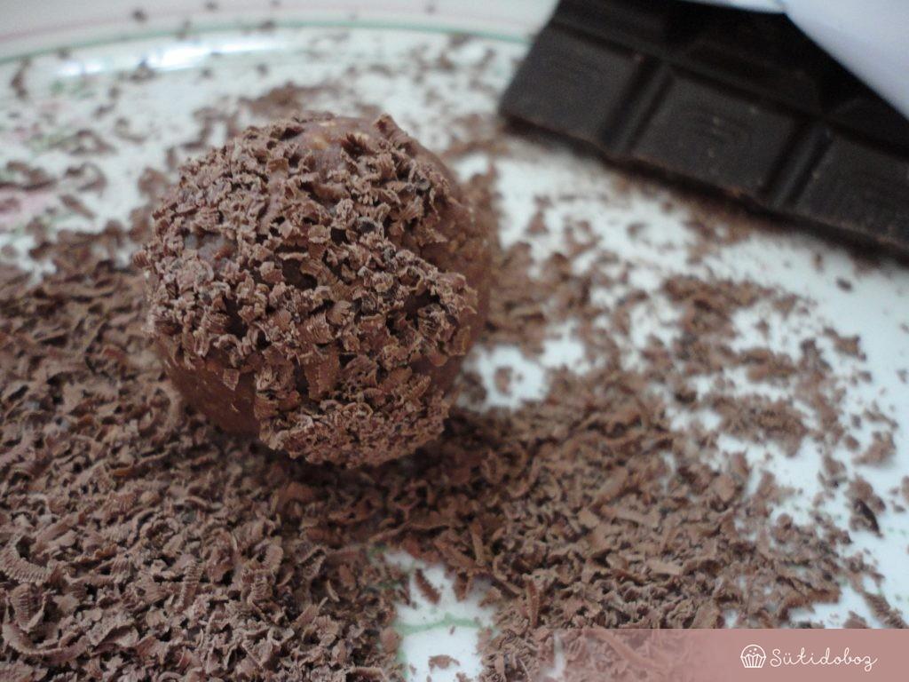 Csokigolyó szörnyek hozzávalói