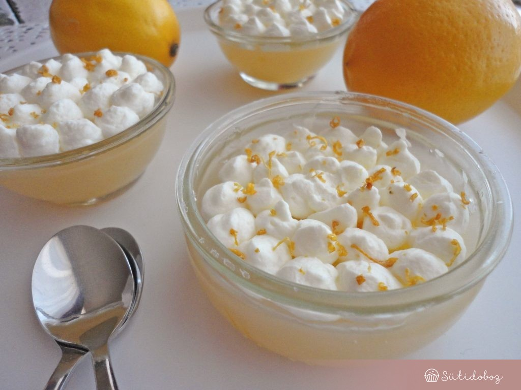 Meyer citrom puding