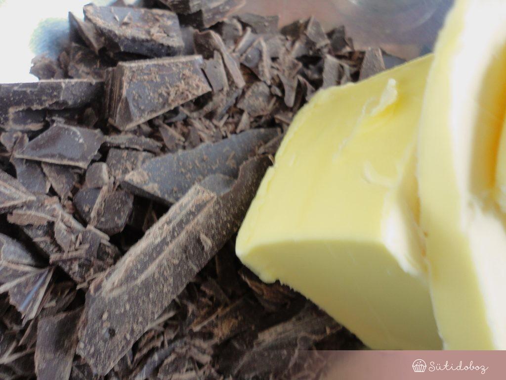 Csoki a browniehoz