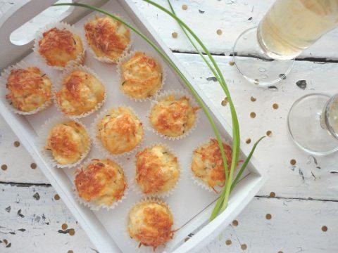 Háromsajtos muffin