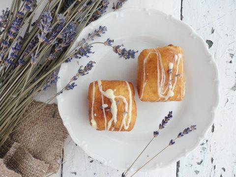 Vaníliás-levendulás beignet