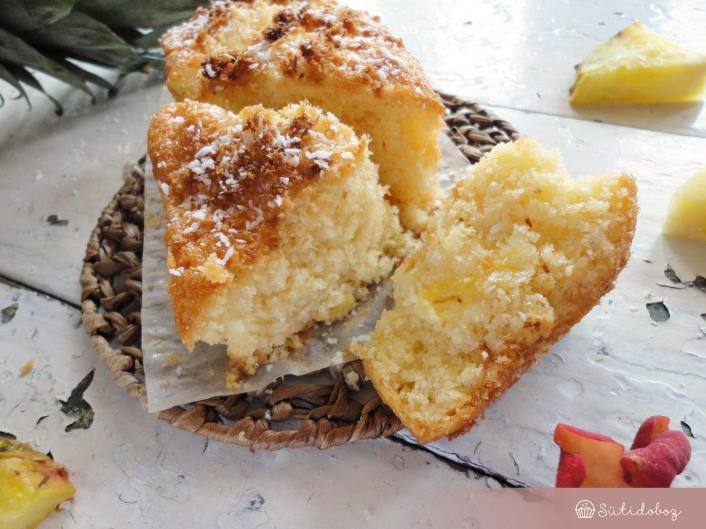 Kókuszkenyér ananásszal