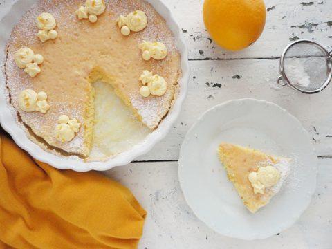 Meyer citromos piskóta vanília krémmel