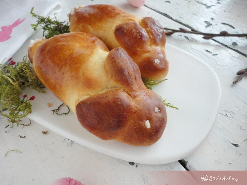 Húsvéti nyuszi kalács