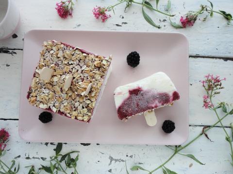 Erdei gyümölcsös-joghurtos jégkrém
