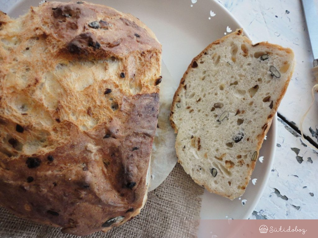 Magos-sült hagymás kenyér