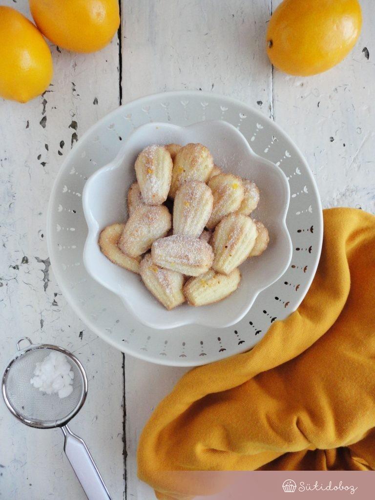 Meyer citromos madeleine